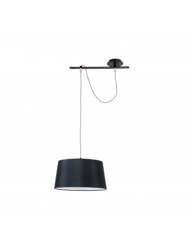 Lámparas de techo FUSTA 28393 FARO negro 1l e27, Lámparas modernas