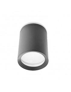 Plafón exterior COSMOS 15-9362-Z5-37 LEDS-C4 1xE27 gris oscuro diam 11cm IP54, Plafones exterior