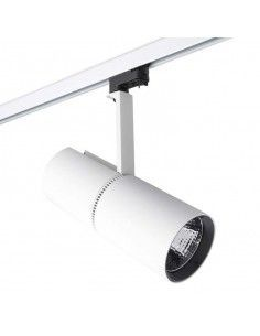Proyector de carril BOND TUBE 35-3565-14-OU LEDS C4 1 x led cree 25,9w blanco, Proyectores interior