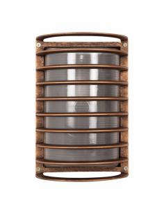 Lampe extérieur CROSS 00-9295-18-M3 LEDS-C4 1xE27 28x23cm IP23 marron oxyde