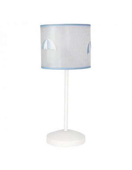 Lampes pour enfants circulaire bleu ciel 2xe27 35cm