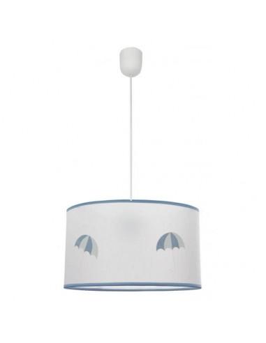 Lampes pour enfants Spirale bleu ciel 1xe27 diam 35cm