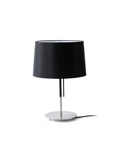 Lámpara de mesa moderna FARO VOLTA 20026 negro E27 alto 45 cm, Sobremesas