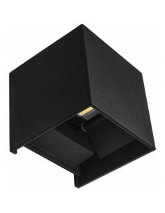 Lampe 3l chromé brillant avec abat-jour 56x45 cm