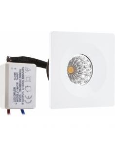 Lampe Detroit blanc-chromé 5xe14 46x61cm