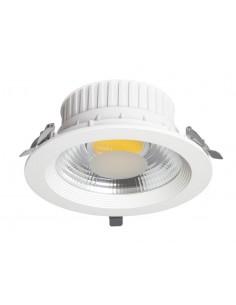 Lampe de bureau Dedalo blanc 1xe27 pince 27x12cm