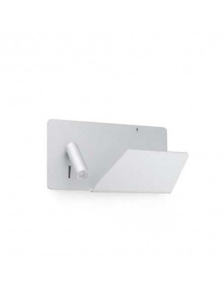 Aplique de pared SUAU 62122 FARO derecha blanco usb led 3w 3000k, Lámparas modernas