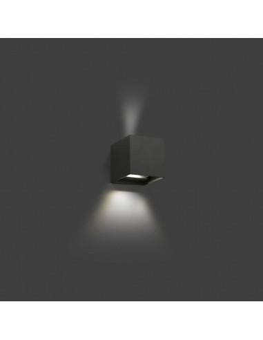 Aplique exterior OLAN 70637 FARO gris oscuro led 6w 3000k, Apliques exterior