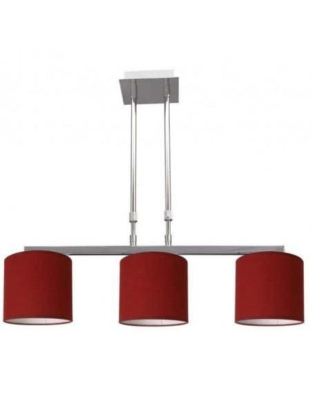 Lampe de table nacre 3 balles chromé-nacre 1xe27 38x21cm