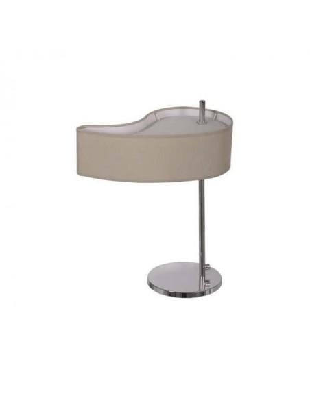 Lampe de table Ottawa 1xe14 chromé 40x20cm