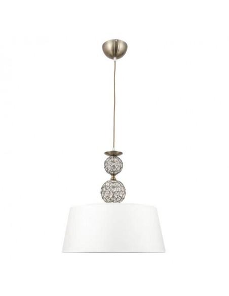 Lampe de table étoile beige 1xe27 22x13cm