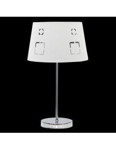 Ventilateur de plafond cuir Cibeles cerisier-noyer 1xe27 Ø107cm