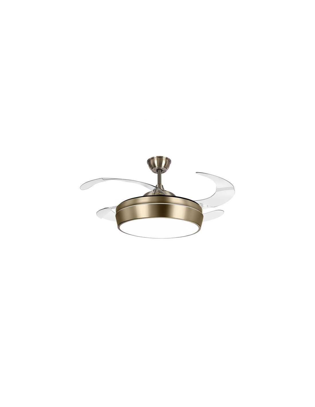 acheter ventilateur de plafond sans lumi 232 re faro eco indus