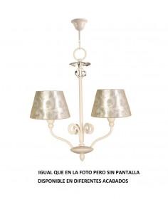 Lampe suspension rustique FARO TAVERN 68144 tavern-g 1l e27 blanc
