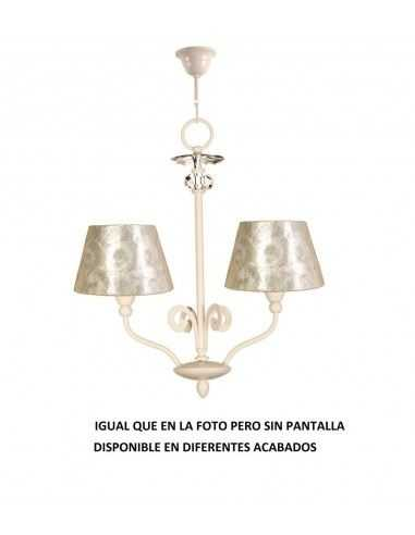 Lampe suspension rustique FARO TAVERN 68144 tavern-g 1l e27 blanc