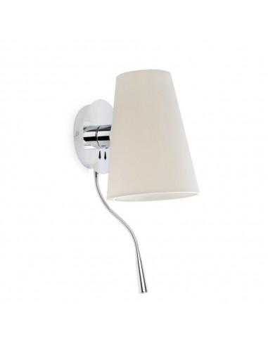 Aplique de pared LUPE 29996 FARO cromo 1xe27 lector led, Lámparas modernas