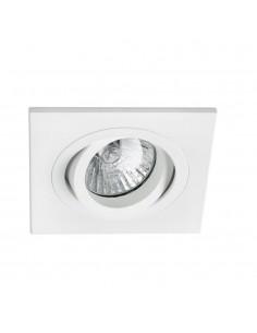 Foco empotrable FARO RADON 43396 orientable blanco GU10, Lámparas modernas