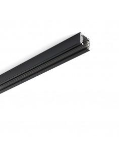 Carril universal 01990102 FARO trifasico 1m negro, Carriles y accesorios proyectores