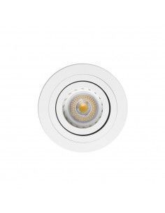 Foco empotrable FARO RADON 43398 orientable blanco GU10, Lámparas modernas
