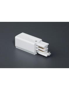 Cabezal alimentación 01990701 FARO derecho blanco, Carriles y accesorios proyectores