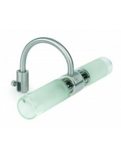 Aplique moderno FARO RELAX 63038 relax-3 2l g9 28w para espejo - Apliques modernos, Lámparas para baños