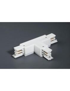 Conector intermedio 01991601 FARO en t blanco izquierda, Carriles y accesorios proyectores