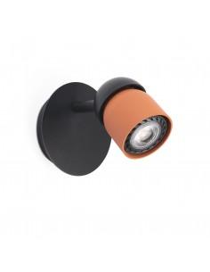 Aplique de pared Coco 40663 Faro negro - terracota 1xgu10, Lámparas modernas