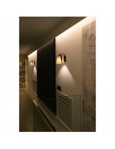 Apliques de pared 29844 STOOD FARO negra + madera e27 max 20w, Lámparas modernas