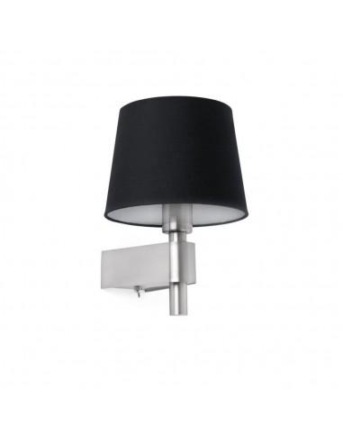 Aplique de pantalla FARO ROOM 29975 negro E27, Lámparas modernas