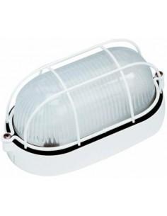 Aplique exterior FARO ESTAY 72010 estay-p fundicion blanco 1l e27 - Apliques exterior, Apliques exterior