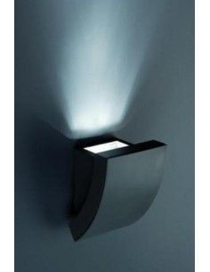 Aplique exterior-Bañador de pared FARO PROA 74400 proa gris oscuro 1l gu10, Apliques exterior