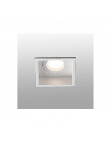 Empotrables HYDE 40116 FARO blanco cuadrado fijo gu10, Lámparas modernas