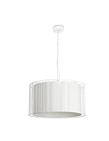 Lámpara colgante moderna FARO LINDA 29309 linda 1l e27 blanco - Lámparas modernas, Lámparas modernas