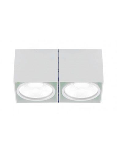 Foco superficie FARO TECTO 63276 blanco 2xAR111, Superficies