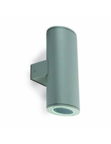 Aplique exterior FARO PISTON 70808 piston gris 2 l gu10 - Apliques exterior, Apliques exterior