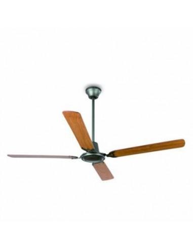 Ventilador de techo sin luz FARO MALVINAS 33110 gris antracita 4 palas, Ventiladores sin luz
