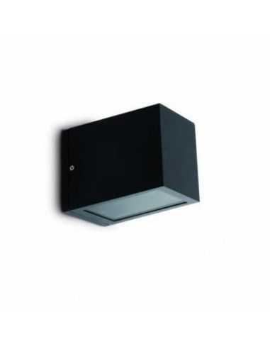 Aplique exterior FARO LACRE 70802 lacre gris oscuro 1l e27 - Apliques exterior, Apliques exterior
