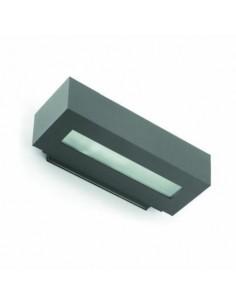 Aplique exterior FARO WEST 70899 west-2 e27 ip54 gris oscuro - Apliques exterior, Apliques exterior