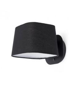 Aplique moderno FARO SWEET 29953 sweet negro 1 e27 - Apliques modernos, Lámparas modernas