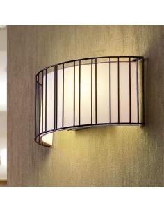 Aplique moderno FARO LINDA 29310 linda 2l e27 negro - Apliques, Lámparas modernas