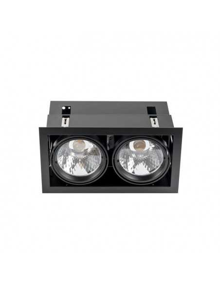 Applique linéaire HALF 493-CR LEDS-C4 1xT5 chromé long 63cm