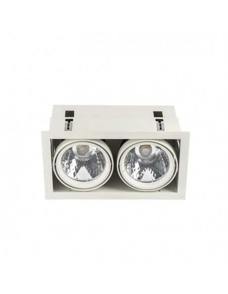 Applique de mur FLAT 05-5092-81-B9 LEDS C4 16 x led cree 16w nickel satin