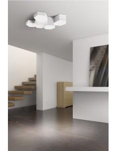 Applique extérieur ils ALLIENT 05-9296-Z5-37 LEDS-C4 1xE27 31x12cm gris IP65