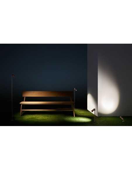 Lampe extérieur PERGOLA PX-0105-MER 49x LED 7.5W 1020 lm marron