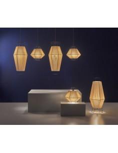 Lampe ADOUR PX-0244-OXI 1x E27 marron oxyde