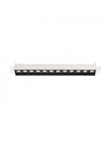 Encastrable de plafond extérieur EASY TC-0146-BLA 30x LED 4.6W 580 lm blanc mat