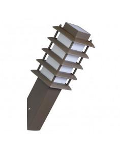 Aplique exterior SILJAN PX-0031-MAR 1x E27 marrón, Lámparas rústicas