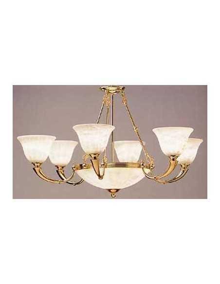Lampe suspension MAGMA 1 x e27 max 100w chromé 00-0264-21-82 LEDS C4