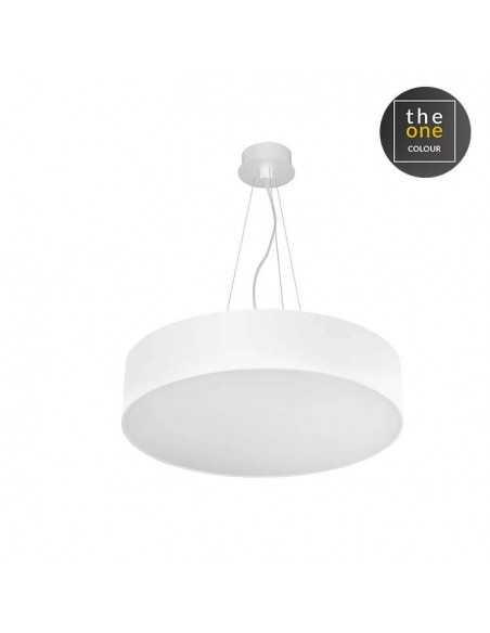 Lampe de plafond VINTAGE 00-5669-21-16 LEDS C4 1 x e27 max.60w blanc chromé