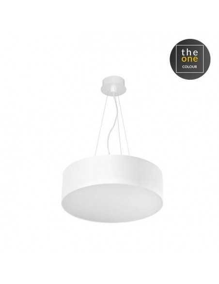 Lampe rustique VINTAGE 00-2011-21-16 LEDS-C4 2xE27 blanc et chromé